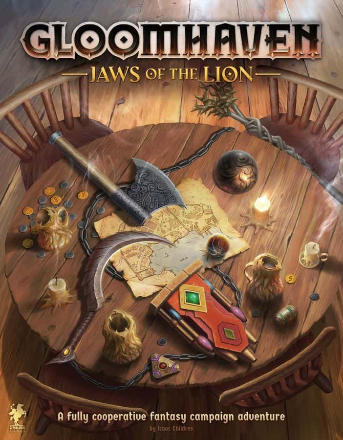 Anunciado Gloomhaven Jaws of the Lion