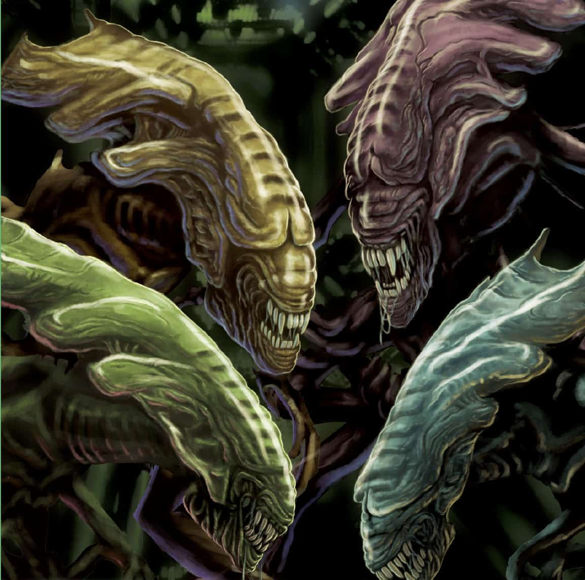 Controla una reina en Alien: Perfect Organism