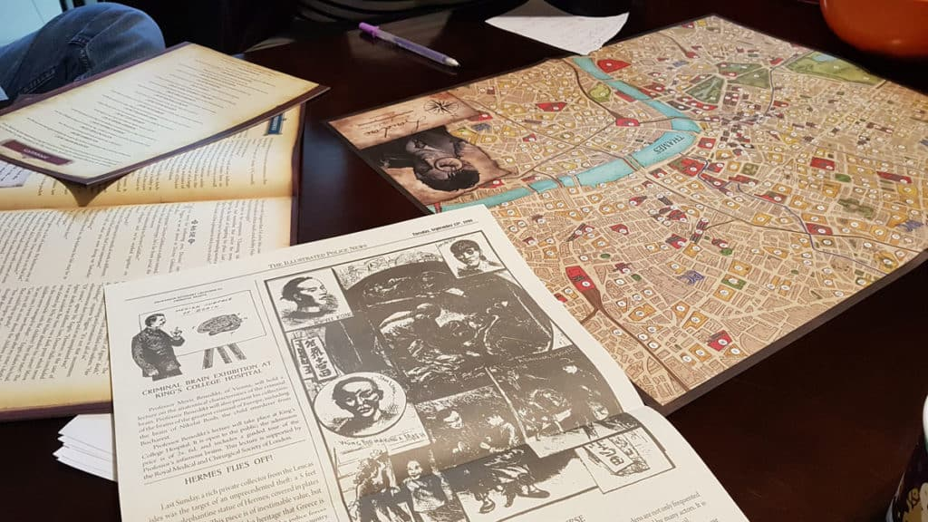 Sherlock Holmes Detective Asesor: Jack el Destripador